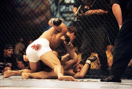 Baroni pounding Suloev