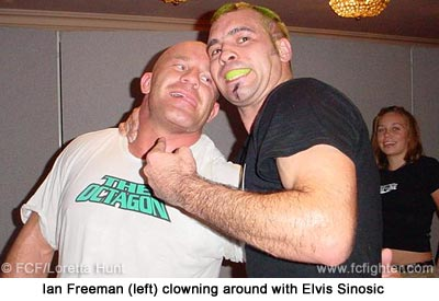 Ian Freeman and Elvis Sinosic
