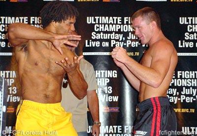 Carlos Newton vs. Matt Hughes