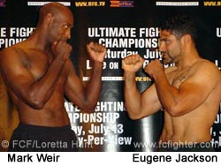 Mark Weir vs. Eugene Jackson