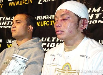 BJ Penn and Caol Uno