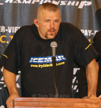 Liddell post-fight