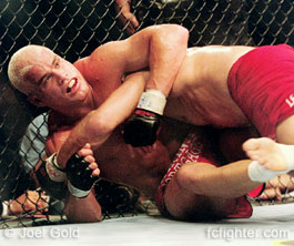 Tito underneath Randy Couture