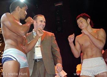 Hermes Franca vs. Caol Uno