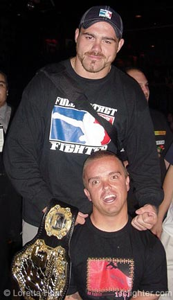 Tim Sylvia and Wee-Man