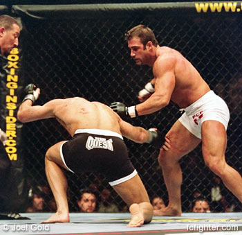 UFC 45: Phil Baroni (right) vs. Evan Tanner
