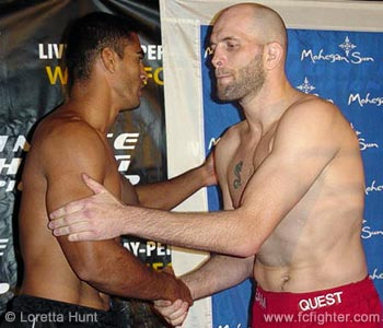 Falaniko Vitale (left) vs. Matt Lindland