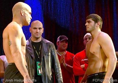 Tito Ortiz (left) vs. Patrick Cote