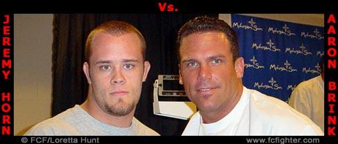 Jeremy Horn vs. Aaron Brink