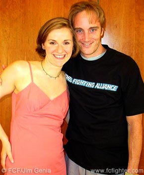 Loretta Hunt and Jay Mohr