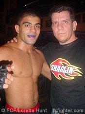 Vitor Shaolin Ribeiro with Andre Pederneiras