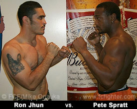 Ron Juhn vs. Pete Spratt