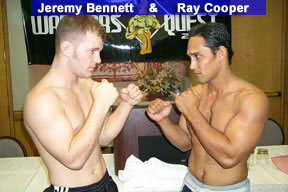 Jeremy Bennett vs. Ray Cooper