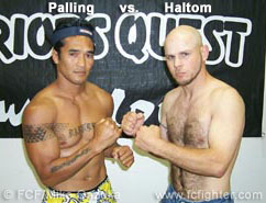 Stephen Palling vs. Mike Haltom